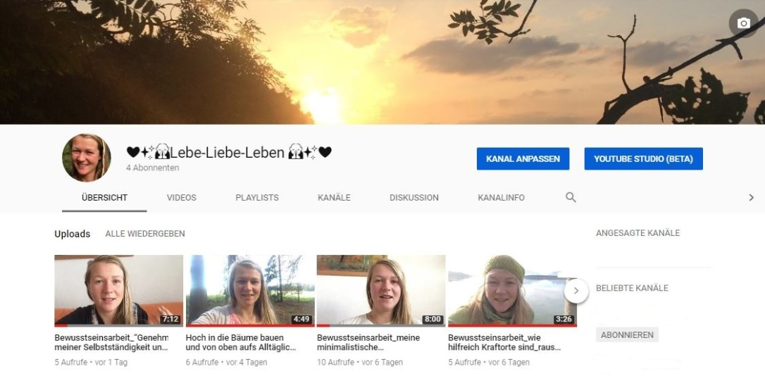 YouTube Kanal Bild