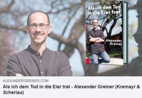 Alex Buchveröffentlichung